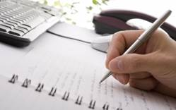 Writing down